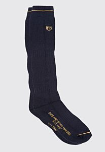 Dubarry Unisex Long Boot Socks Navy