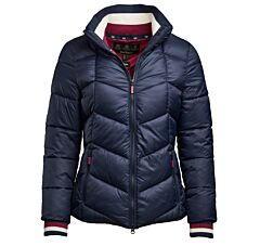 Barbour Gangway Quilted Jacket Navy/Deep Pink