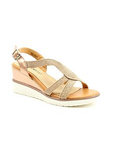 Heavenly Feet Marin Sandals Gold