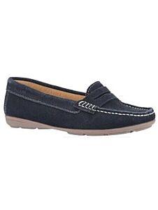 Hush Puppies Margot Slip On Shoes Navy