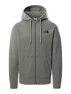 The North Face Men's Open Gate Full Zip Hoodie Agave Green