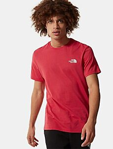The North Face Men's Simple Dome T-Shirt Rococco Red