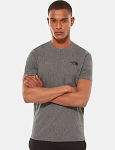 The North Face Men's Simple Dome Tee Medium Grey Heather