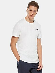 The North Face Men's Simple Dome Tee White