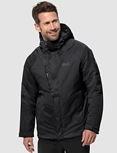 Jack Wolfskin Men's Troposphere Jacket Black