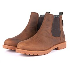 Barbour Harter Chelsea Boot Umber