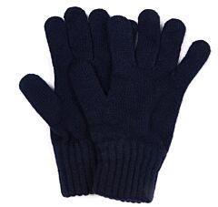 Barbour Lambswool Gloves Navy