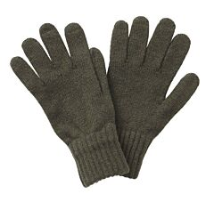 Barbour Lambswool Gloves Olive