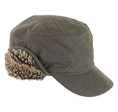 Barbour Stanhope Hunting Cap Olive