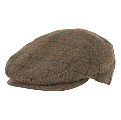 Barbour Cairn Cap Olive/Red/Blue