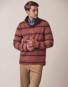 Crew Clothing Wide Stripe Padstow Sweater