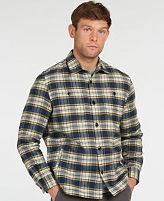 Barbour Seatown Over Shirt Navy