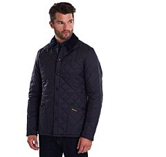 Barbour Heritage Liddesdale Quilted Jacket Navy