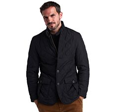 Barbour Quilted Lutz Jacket Black