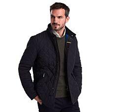 Barbour Shoveler Quilt Jacket Navy