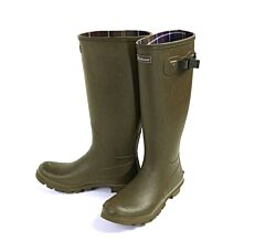Barbour Mens Bede Wellington Boots Olive