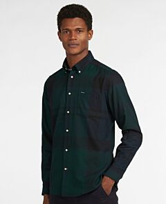 Barbour Dunoon Tailored Shirt Black Watch