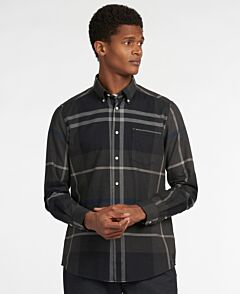 Barbour Dunoon Tailored Shirt Graphite