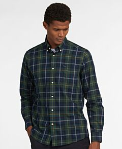 Barbour Wetherham Tailored Shirt Seaweed Tartan