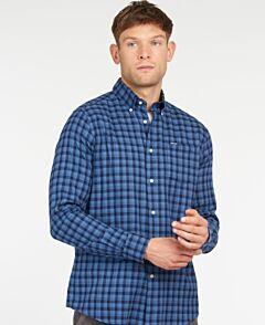 Barbour Lowfell Tailored Shirt Sky Blue