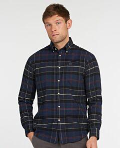 Barbour Lutsleigh Shirt Navy Marl