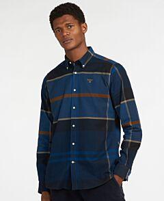 Barbour Iceloch Tailored Shirt Midnight Tartan