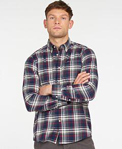 Barbour Crossfell Tailored Shirt Navy