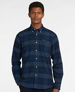 Barbour Kyeloch Tailored Shirt Midnight Tartan