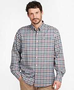 Barbour Coll Thermo Shirt Grey Marl