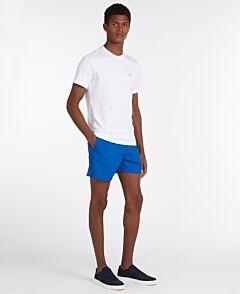 Barbour Essential Logo 5 Swim Shorts Bright Blue