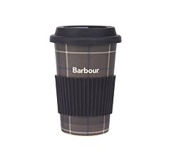 Barbour Tartan Travel Mug Monochrome Tartan