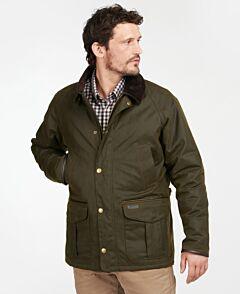 Barbour Stratford Waxed Jacket Olive