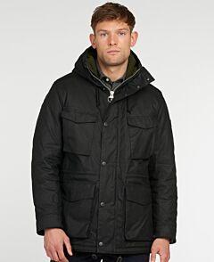 Barbour Nautic Waxed Jacket Black