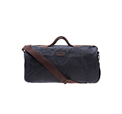 Barbour Wax Holdall Navy