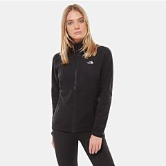 The North Face Women's 100 Glacier Fleece Jacket Black