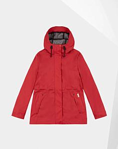 Hunter Women's Original Lightweight Waterproof Jacket Red