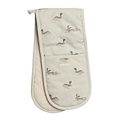 Sophie Allport Hare Double Oven Gloves