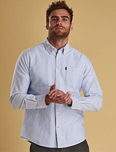 Barbour Oxford Stripe 1 Tailored Shirt White