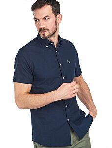 Barbour Oxford 3 Short Sleeve Tailored Navy