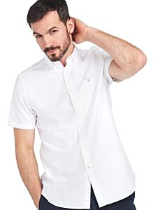 Barbour Oxford 3 Short Sleeve Tailored White