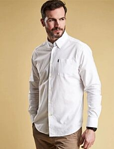 Barbour Oxford Tailored Fit Shirt White