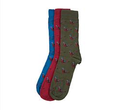 Barbour Pheasant Socks Gift Box Mixed 1