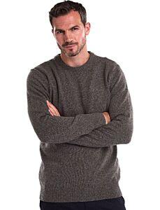 Barbour Pima Cotton Crew Neck Sweatshirt Charcoal