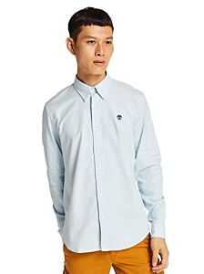 Timberland Long Sleeve Pleasant River Stretch Oxford Shirt SkyWay