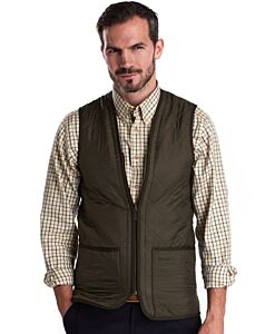 Barbour Polarquilt Waistcoat/Zip-In Liner Olive