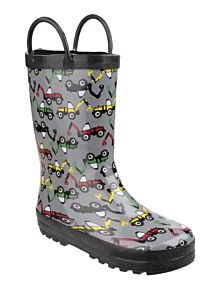 Cotswold Puddle Waterproof Pull On Boots Digger
