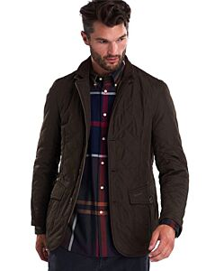 Barbour Quilted Lutz Jacket Olive