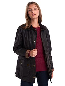 Barbour Beadnell Wax Jacket Rustic