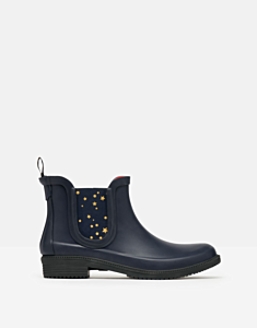 Joules Rutland Chelsea Boot with Printed Gusset French Navy