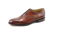Loake Aldwych Calf Oxford Shoe Mahogany